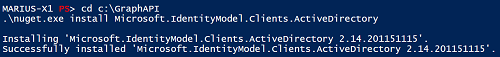 PowerShell Result